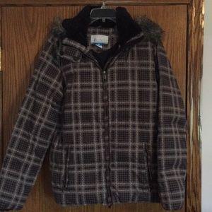 worn less than ten times Columbia jacket!!!